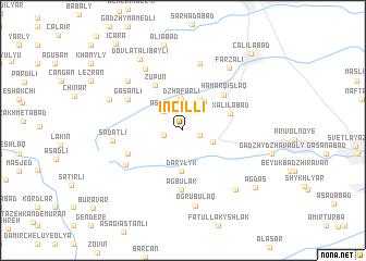 map of İncilli