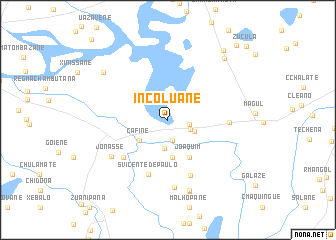map of Incoluane