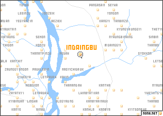 map of Indaingbu