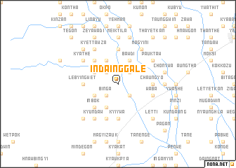 map of Indainggale