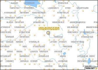 map of Indainggon