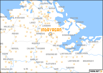 map of Indayagan