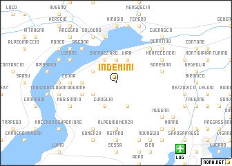map of Indemini