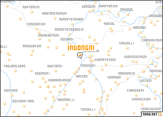 map of Indong-ni