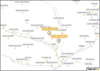 map of Indong-ni