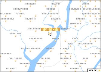 map of Indurkāni