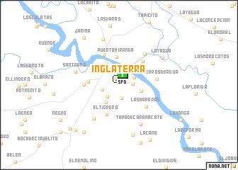 Inglaterra (Venezuela) map - nona.net on bolivia map, burkina faso map, paraguay map, marruecos map, trinidad y tobago map, iran map, chad map, granada map, bangladesh map, serbia map, islandia map, españa map, portugal map, corea del sur map, uganda map, el salvador map, ucrania map, taiwan map, sri lanka map,