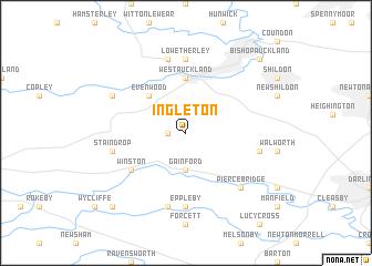 map of Ingleton
