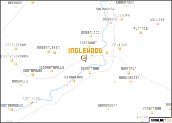 map of Inglewood