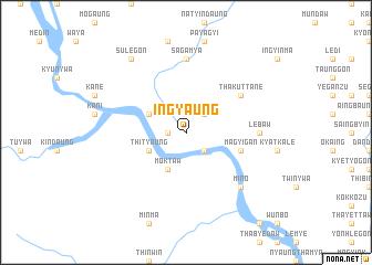 map of Ingyaung