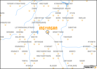 map of Ingyingan
