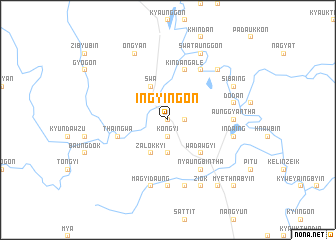 map of Ingyingon