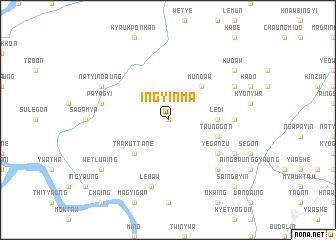 map of Ingyinma