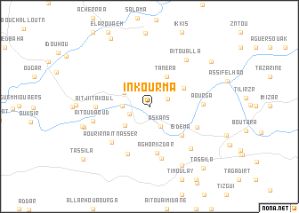 map of In Kourma