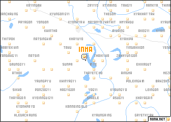 map of Inma