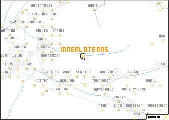 map of Innerlaterns