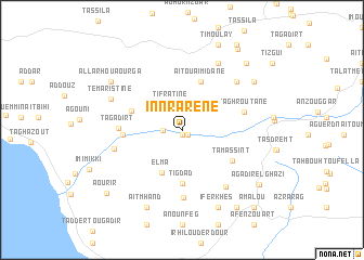 map of Innrarene