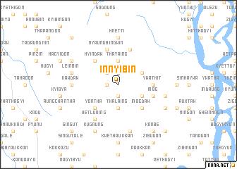 map of Innyibin