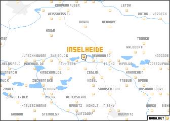 map of Inselheide