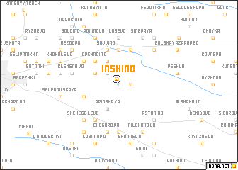 map of Inshino