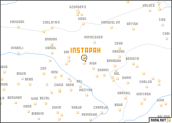 map of Instapah