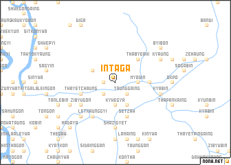 map of In-ta-ga