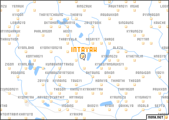 map of Intayaw