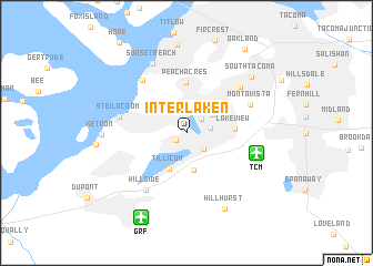 map of Interlaken