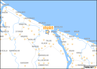 map of Inuan