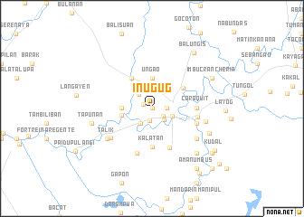 map of Inug-ug