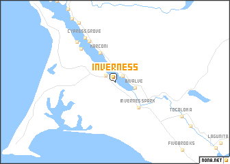 map of Inverness