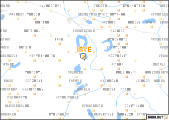 map of Inye