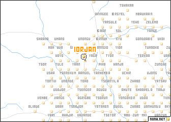 map of Iorjan