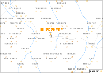 map of Iourarhene