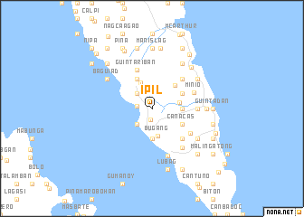 map of Ipil
