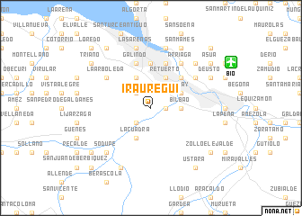 map of Iráuregui