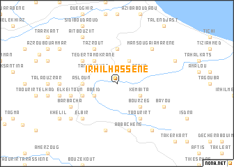map of Irhil Hassene