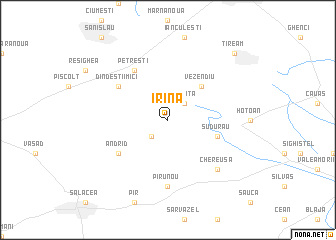 map of Irina