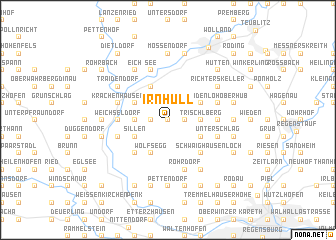 map of Irnhüll