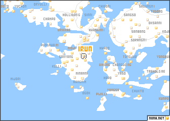 map of Irun
