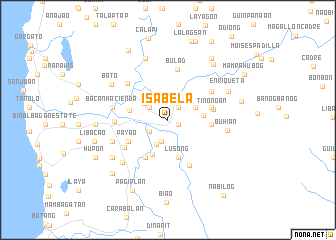 map of Isabela