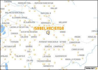 map of Isabel Hacienda