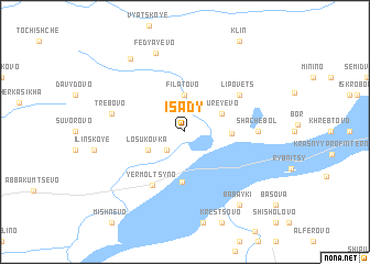 map of Isady
