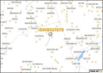 map of Isahbounene
