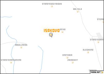 map of Isakovo