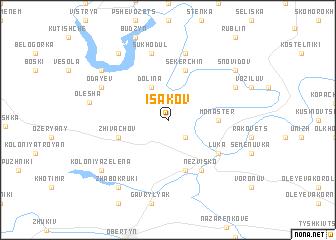 map of Isakov
