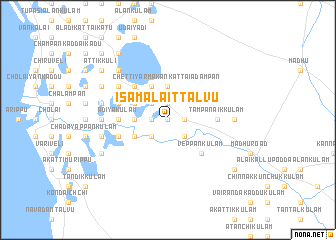 map of Isamalaittalvu
