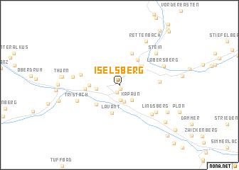 map of Iselsberg
