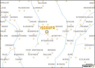 map of Isgoufa