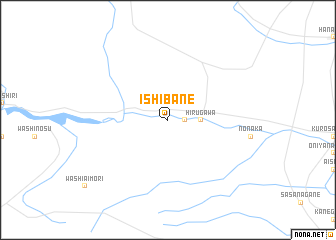 map of Ishibane